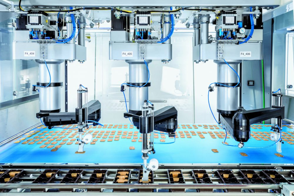 Robotics taking centre stage in confectionery production